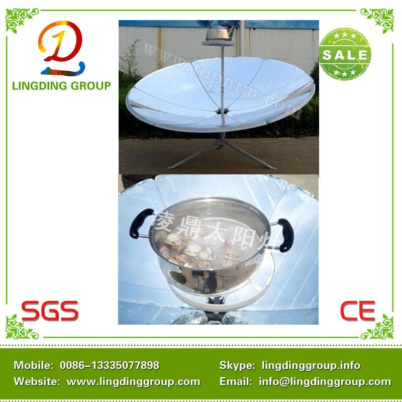 China 2014 energy saving parabolic solar cookers 1200W
