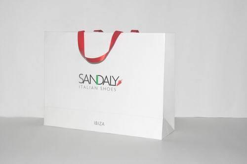 Custom fashion paper shopping bag