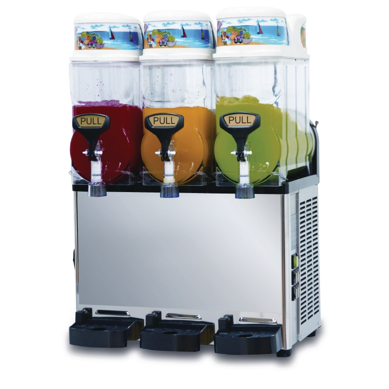 SLUSH MACHINE 3 x 10 LT capacity