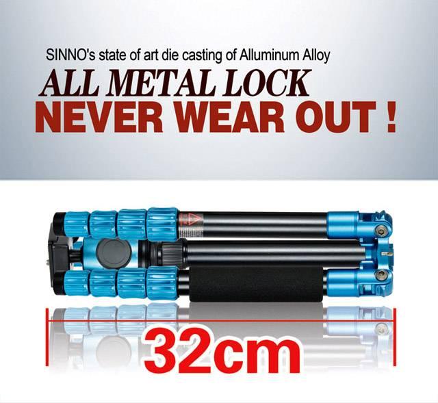 Stainless lock system X-2525G camera tripod professional tripod aluminum tripod