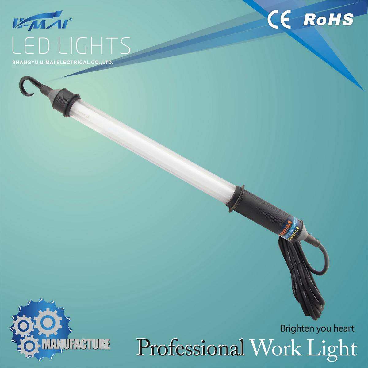 Hot sale work light fluorescent tube light security lamp
