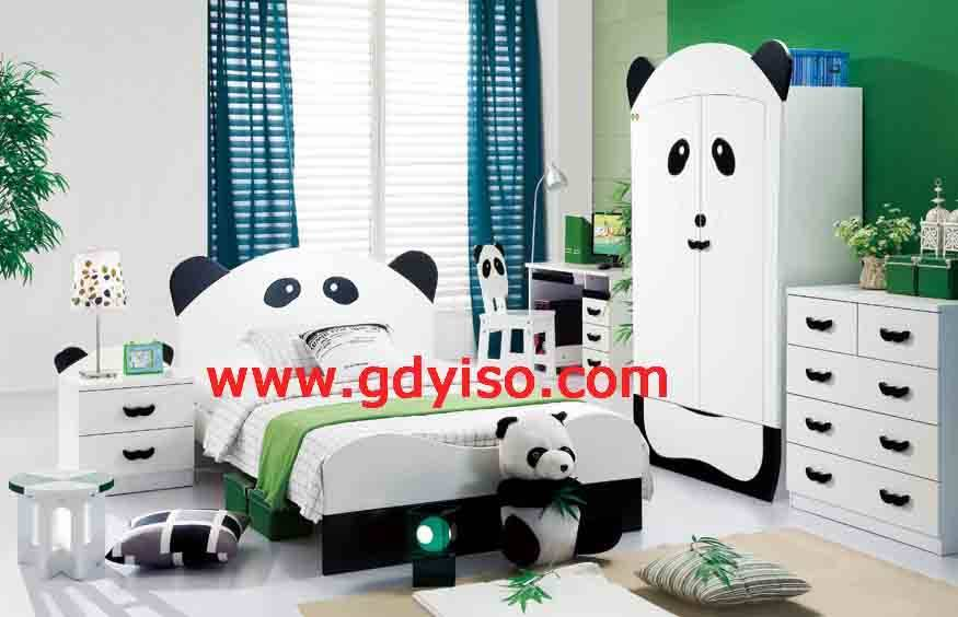 Panda bedroom sets China