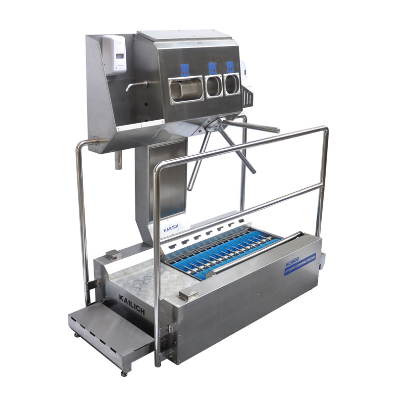 Controlled, systematic personal hygiene. Hygiene sluices for optimal employee access at production e