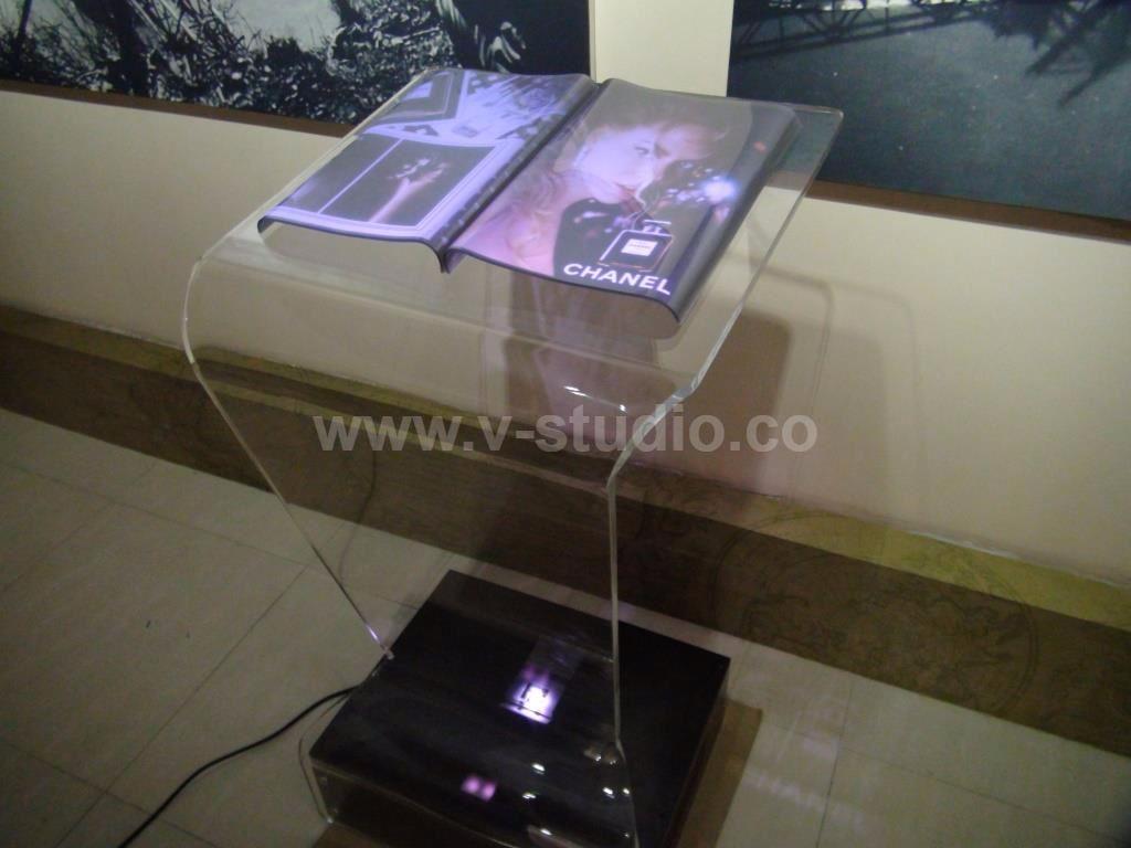 Holographic E-Book by V-Studio