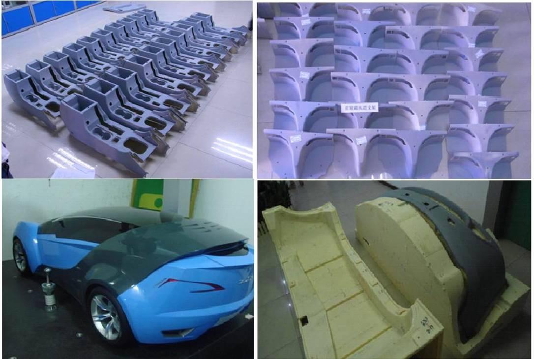 Prototype parts models making service