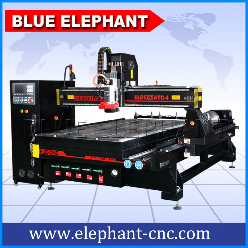 ELE1325 ATC CNC Router with Rotary Device