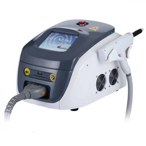 ISO CE approved beauty machine portable nd yag laser tattoos removal machine