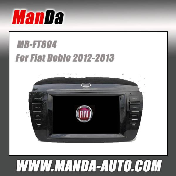Manda car stereo for Fiat Doblo 2012-2013 in-dash head unit touch screen dvd gps auto radio