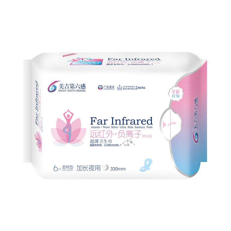 6th sense Nano sliver healthy sanitary pads