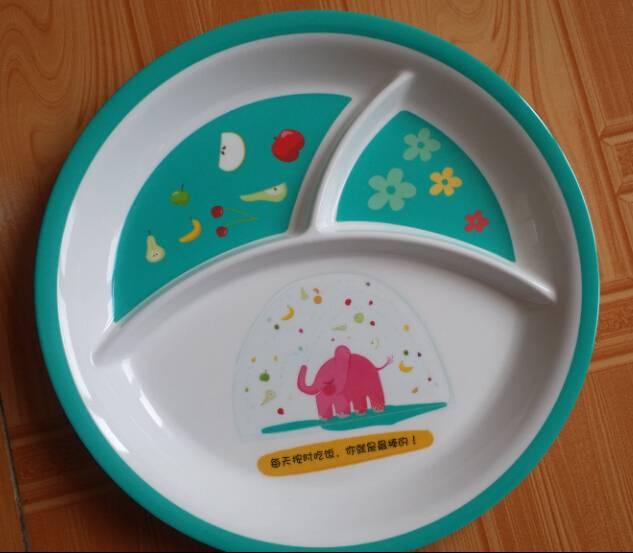 supply melamine tray for children
