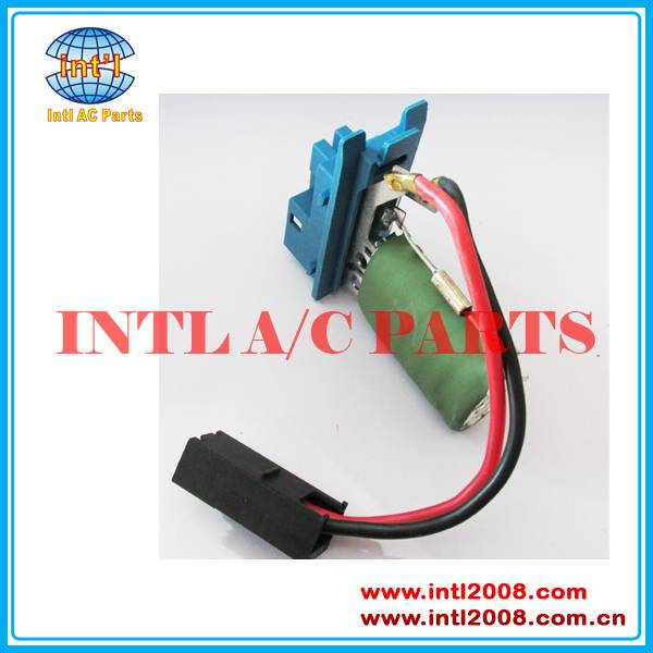 Opel Heater fan blower motor resistor 1845793
