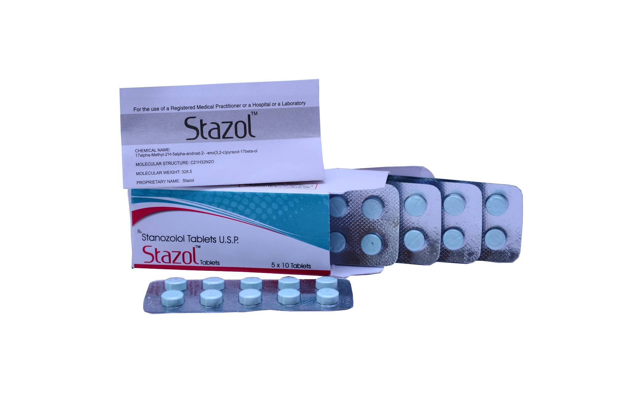Stazol 10mg - Stanozolol Tablets
