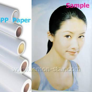 PP self adhesive paper