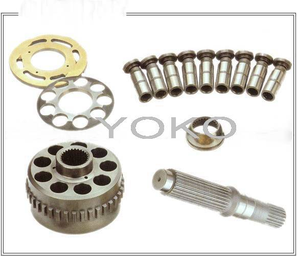 Sell hydraulic travel motor and swing motor spare parts