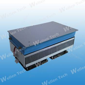 Thermoelectric cooling devices, water chillers
