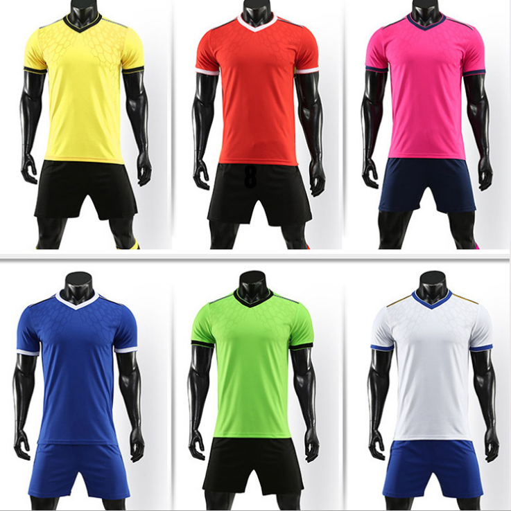 Wholesale Custom Sublimation Printing Polyester Sportswear Soccer Jerseys