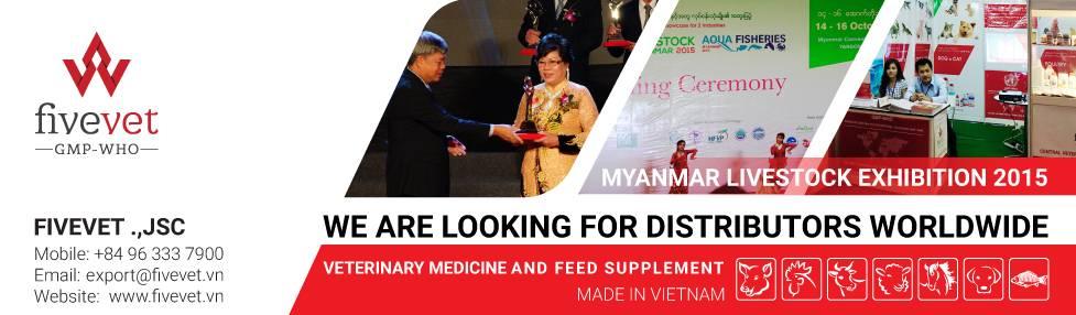 Find distributors of veterinary medicines made in Vietnam