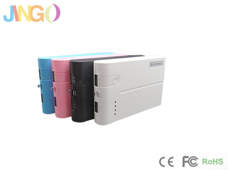 High-quality Mobile Power Bank Charge for Samsung, iPhone/4/4S/5/5S and Smart Phones