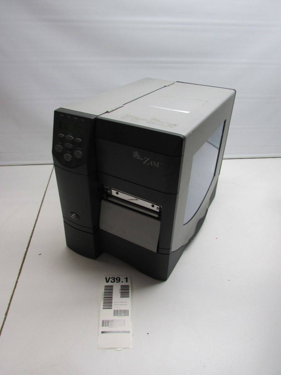 Zebra Z4M Plus Thermal Barcode Label Printer No Ribbon