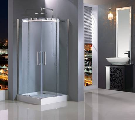 Simple Corner Shower Room HC-149