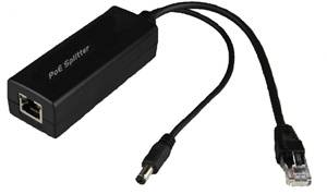 New-released 802.3af POE Splitter with cables