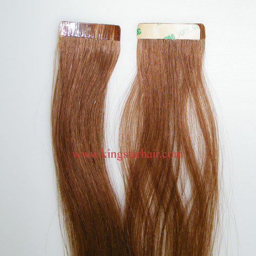 Top quality silky remy tape hair extension