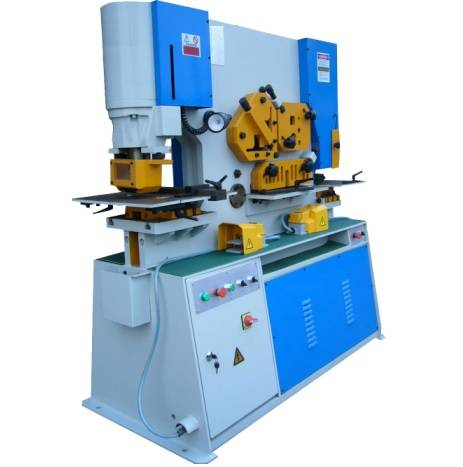 IW-110 Hydraulic Iron Worker(Punching and Shearing machine)