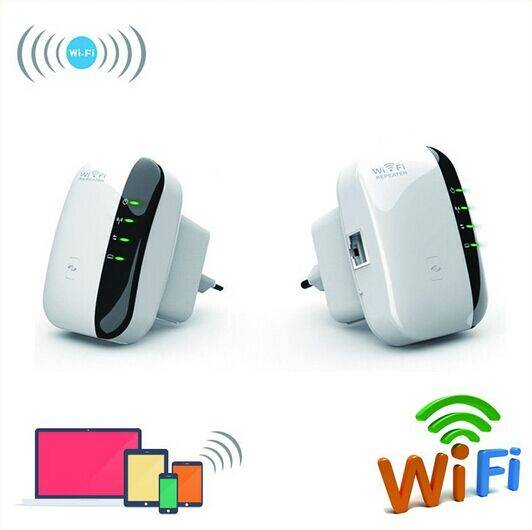Wireless N Wifi Repeater 802.11N/B/G Network Router Range 300Mbps signal Antennas booster extend