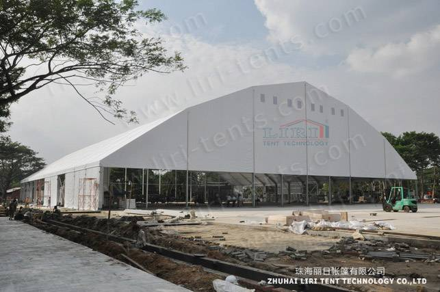 60m Waterproof and Flame Retardant Polygonal Marquee Tent for Exhibition by the Best Tent Supplier