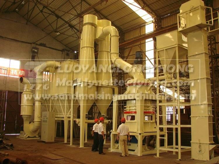 LSM fine powder grinder