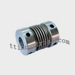 Set screw bellows coupling