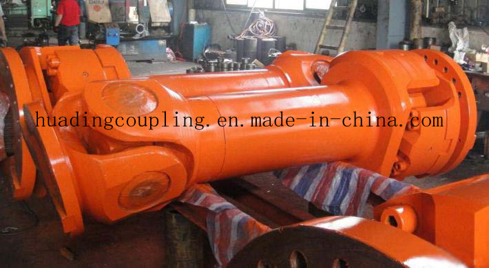 SWC cardan shaft for heavy duty machine