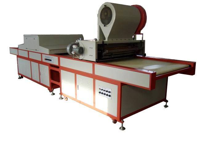 Automatic Glitter Powder Coating and UV Curing Combined Machine