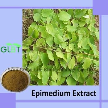 Epimedium Extract (Horny Goat Weed Extract) GMP Supplier