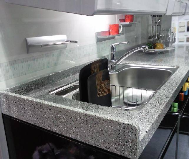 CMMA Solid Surface Sink Top Table