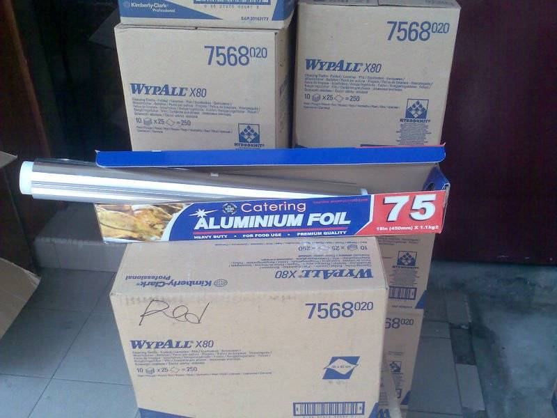 Embossed aluminum foil for sale
