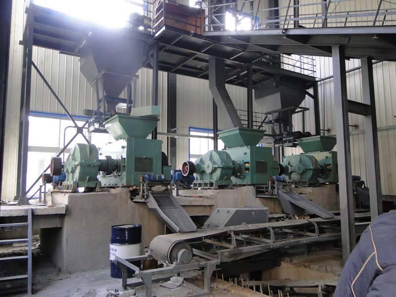 Coal briquetting production line---Brief introduction