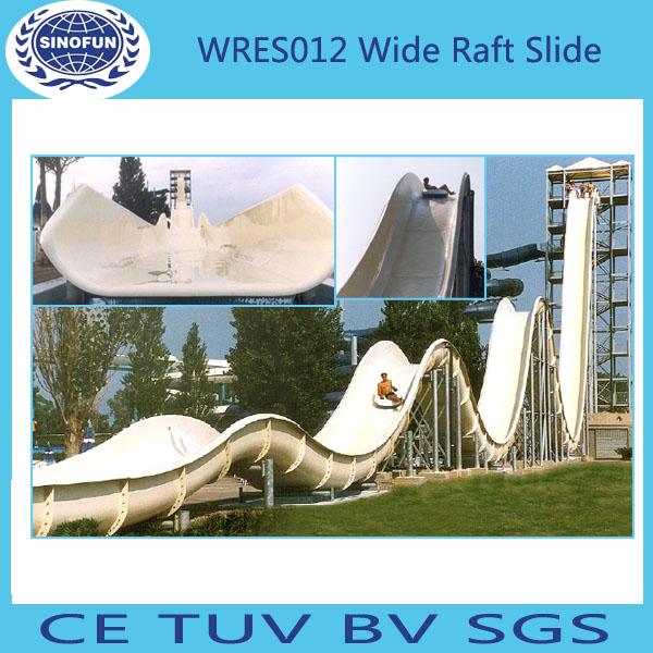 [SINOFUN RIDES] gaint fiberglass water park slide