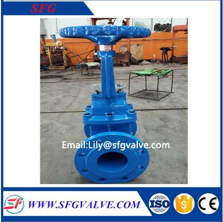 SZ41X rising stem resilient seated gate valve