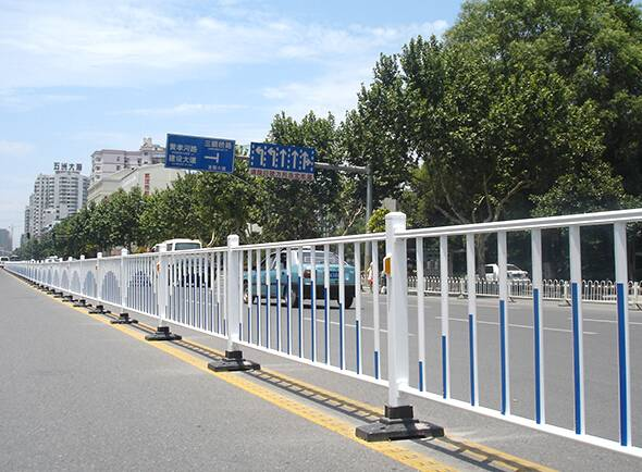 road isolation fence