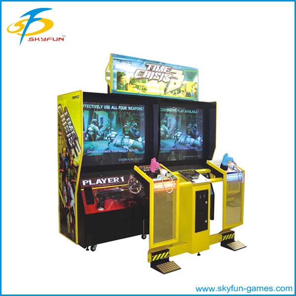 Coin operated shooting gun game machine