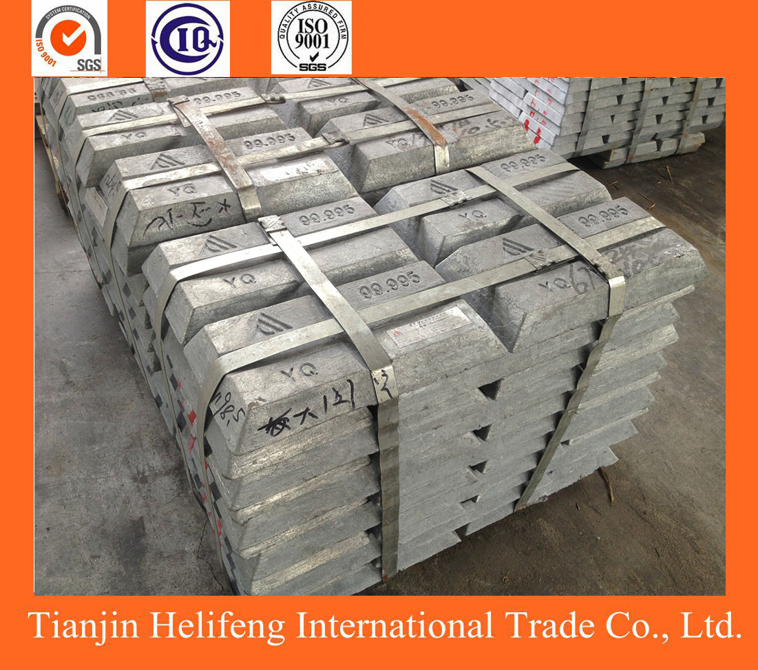 Pure zinc ingots with competitive factory price