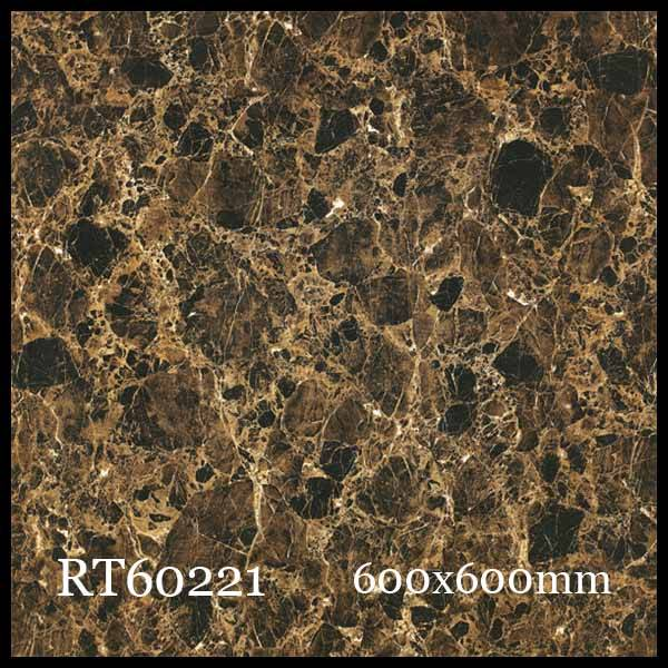 Glossy Porcelain tiles RT60221