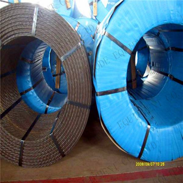 Prestressing And Post Tension Prestressed Cable