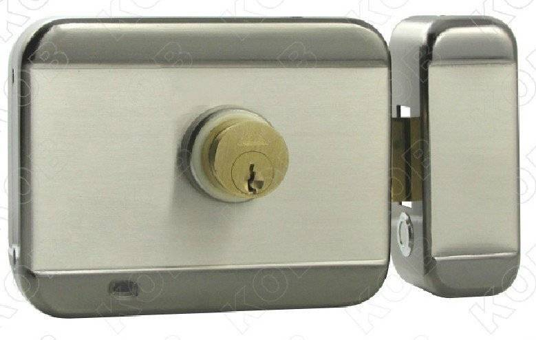 electric motor lock mute lock for iron gate anti-theft