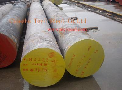 steel round bar SAE4140, 4340, 8620, H13, D2 ect