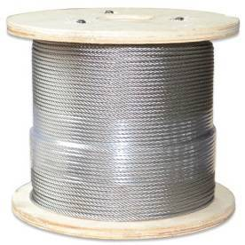 China direct factory supplier of stainless steel wire rope,AISI304,AISI316,A2,A4