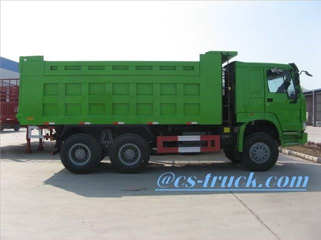 6x6 off road dump truck