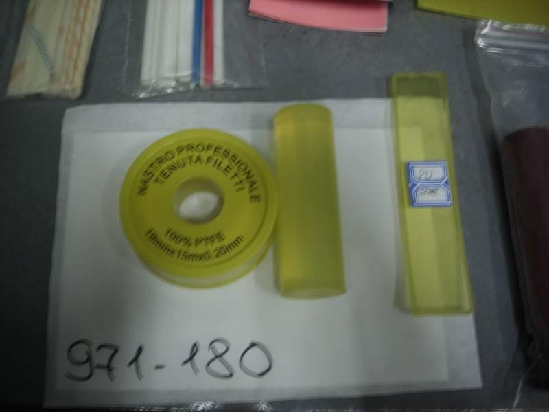 Polyurethane round rods diameter: 201000mm, 301000mm, 451000mm, 801000mm