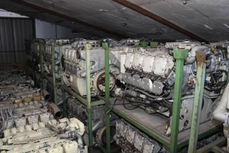 MTU-Mercedes MB 837 diesel engines for sale